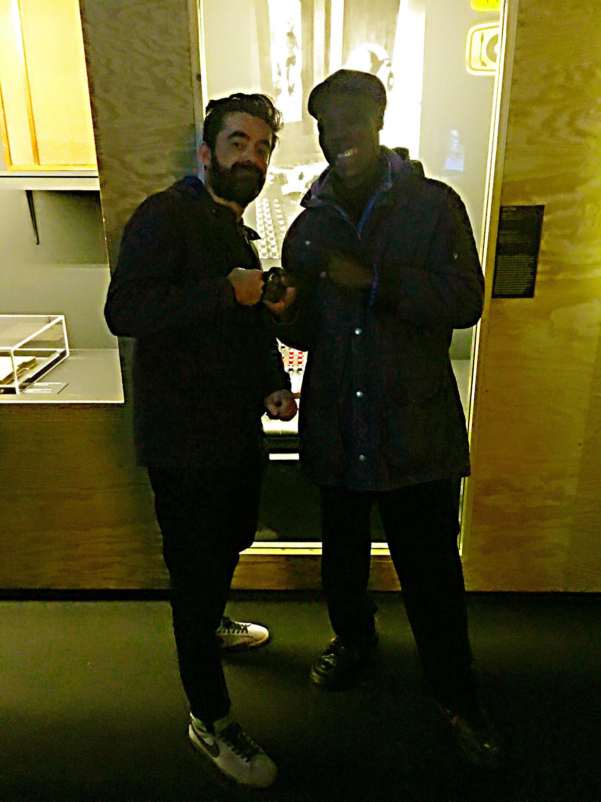 Jamaica Jamaica curator Seb Carayol and Alpha alumni Vin Gordon